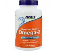 NOW FOODS OMEGA-3 1000 МГ (100шт.)